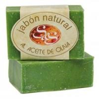 Jabón Natural Al Aceite de Oliva 100g