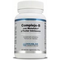 Complejo B Con Metafolin 60 cápsulas vegetarianas