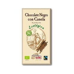 Chocolate Negro Con Canela 56% Bio Chocolates Sole