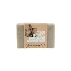 Jabón Natural Exfoliante con Piedra Pómez - Sys