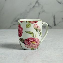 Taza Porcelana China Rosas (Pack de 6 unidades)