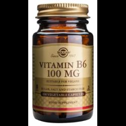 Vitamina B6 100 mg - Solgar