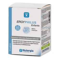 ERGYPHILUS Niños  Caja 14 sobres - Nutergia