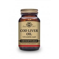 Aceite de Hígado de Bacalao100 cápsulas - Solgar