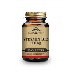 Vitamina B12 500 μg 50 cápsulas - Solgar