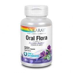 Oral Flora 30 comprimidos con SambuActin - Solaray