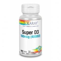 Super D3 - 4000 UI - 100 Perlas - Solaray
