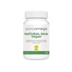 Natural DHA Vegan 60