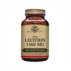 Lecitina 1360mg Solgar
