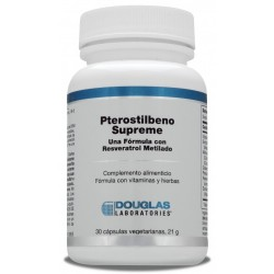 Pterostilbeno Supreme Douglas