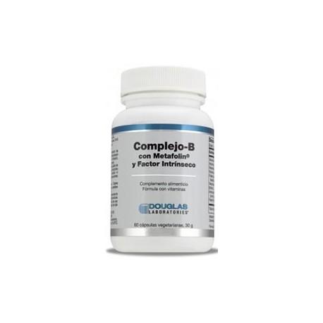 Complejo B Con Metafolin 60 cápsulas vegetarianas Douglas