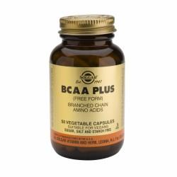 Solgar BCAA Plus cápsulas vegetales, 50