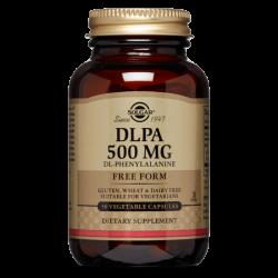 Solgar DLPA (DL-Fenilalanina) 500 mg - 50 Cápsulas vegetales