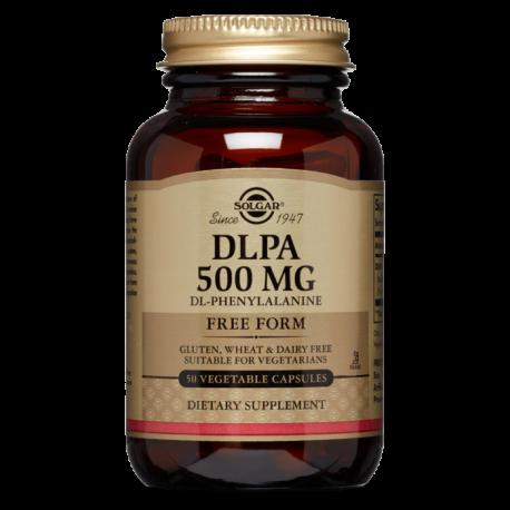 DLPA (DL-Fenilalanina) 500 mg - 50 Cápsulas vegetales