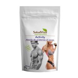 SALUD VIVA - Activity 500 g – Mezcla de Proteinas al Cacao