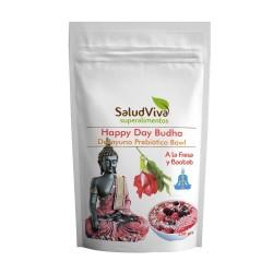 Salud Viva - HAPPY DAY BUDHA A LA FRESA Y BAOBAB 350g